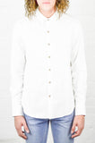 18 Waits Dylan Shirt White Flannel