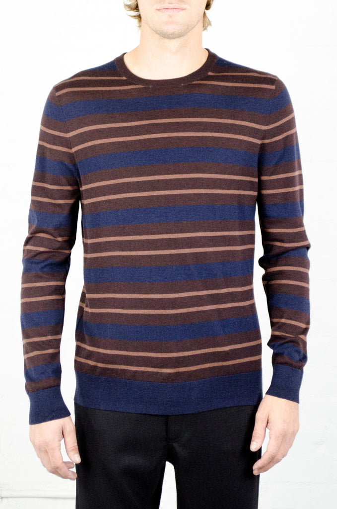 Odin Stripe Crewneck Sweater
