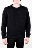 Odin Textured Rune Wool Sweatshirt