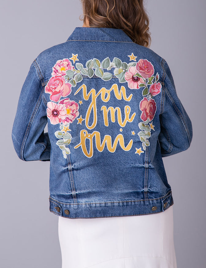You, Me, Oui Denim Jacket