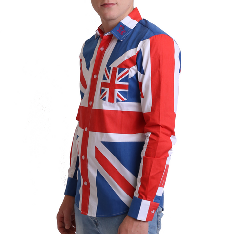 Union Jack shirt - mutts nuts