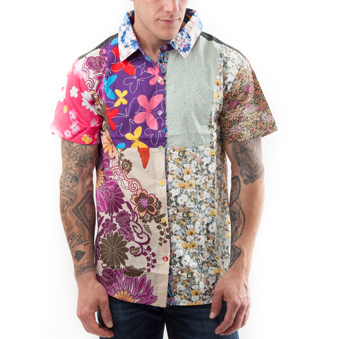 The Shortie - short sleeve party shirt