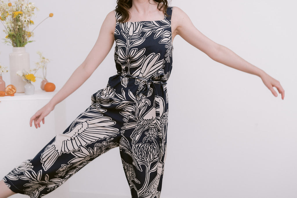 Fauna Jumpsuit - Midnight Navy