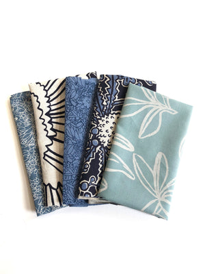 Mixed fabric bundle - Small pieces option 1