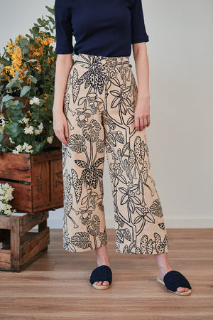 Wide Leg Pant - Daintree