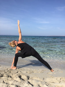 Yoga - Take me to NEW YORK sandwashed silk