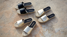 Load image into Gallery viewer, Midnight Black Espadrilles