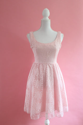 vintage cherry blossom dress