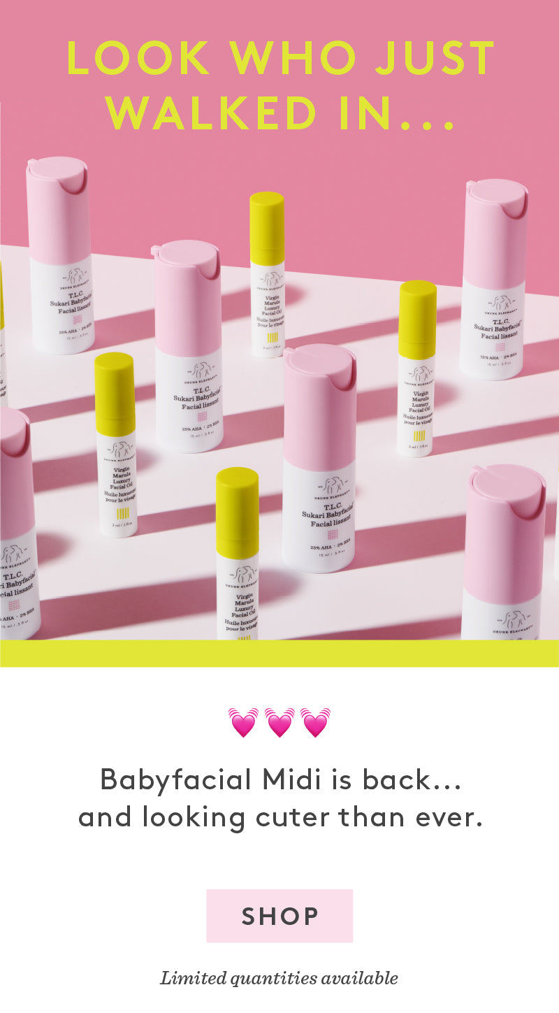 1c3e9938bcf The cutest midi Babyfacial face mask is back in stock
