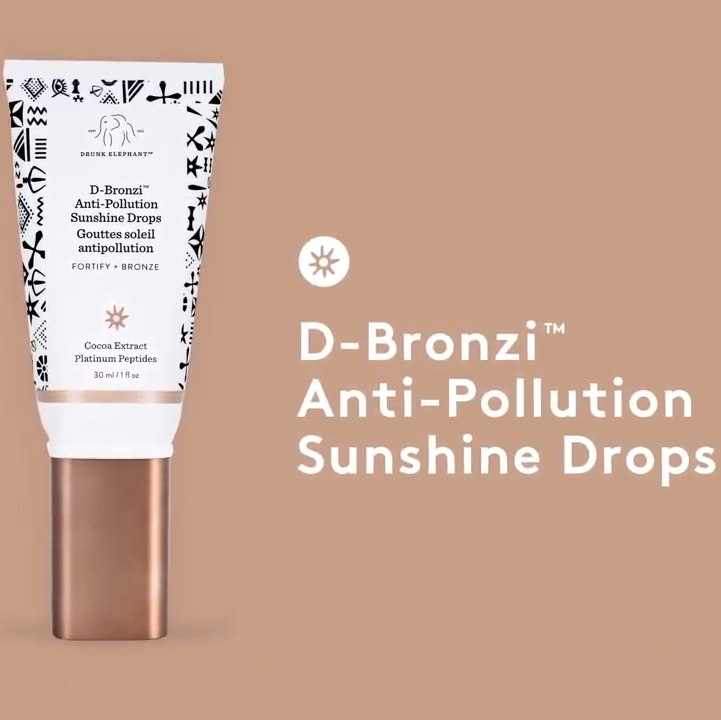 D-Bronzi™  Anti-Pollution Sunshine Drops Video