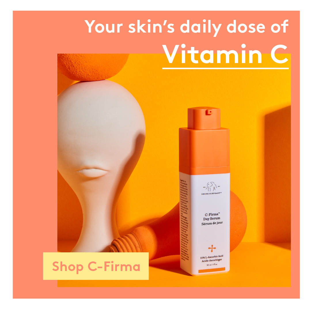 Your skin's daily dose of Vitamin C with Drunk Elephant's award-winning C-Firma Day Serum