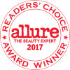 Allure  2017 - Readers' Choice Award Winner