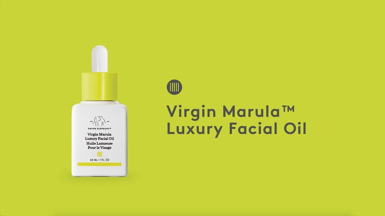 Virgin Marula Luxury Facial Oil Video