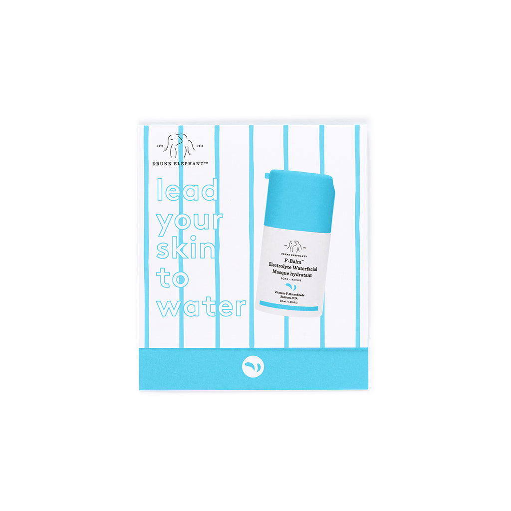 F-Balm™ Electrolyte Waterfacial Packette on Card Sample