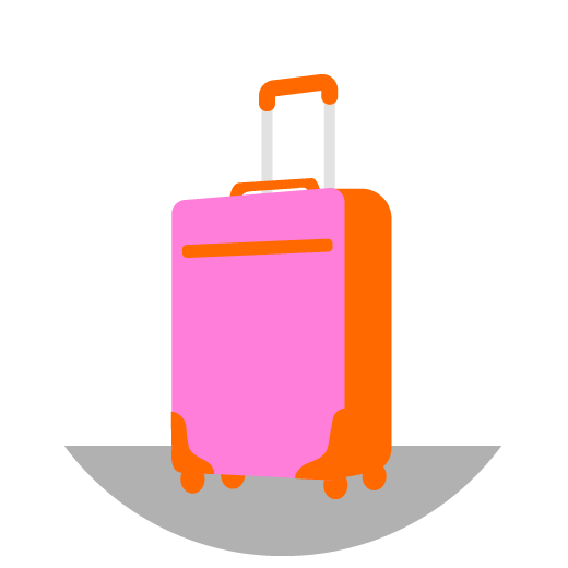 Illustration of a suitcase