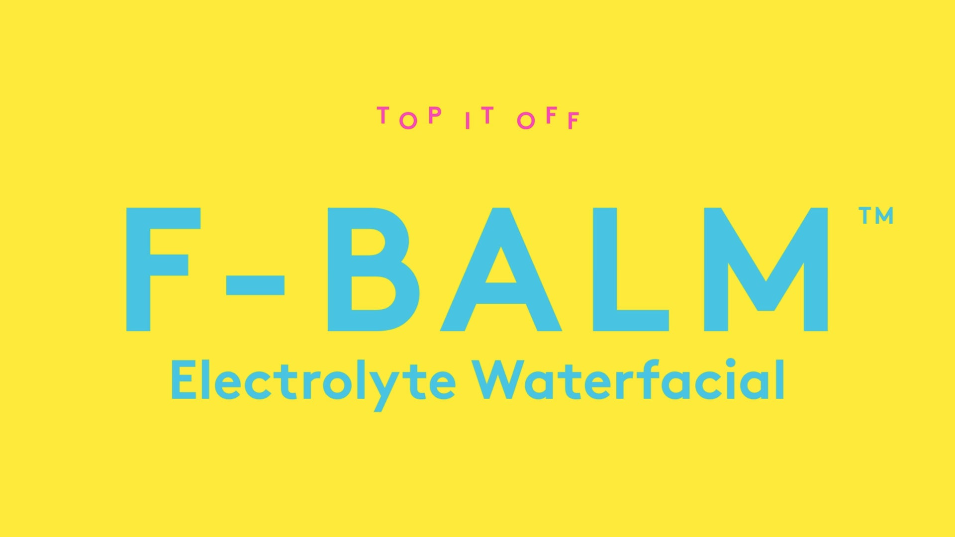 video explaining how F-Balm can be used to top off nighttime smoothies