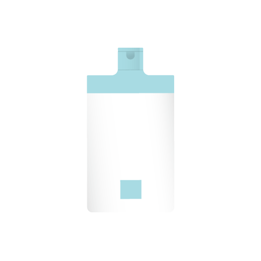 illustration of a cocomino conditioner bottle