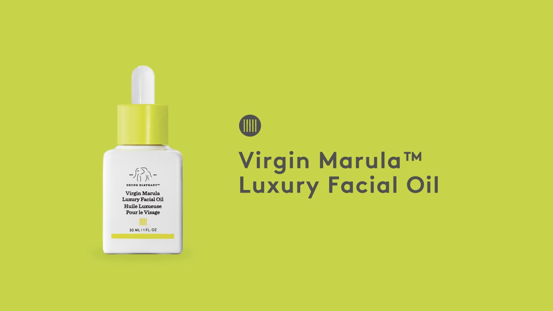 video detailing the benefits of Virgin Marula Luxury Facial Oil