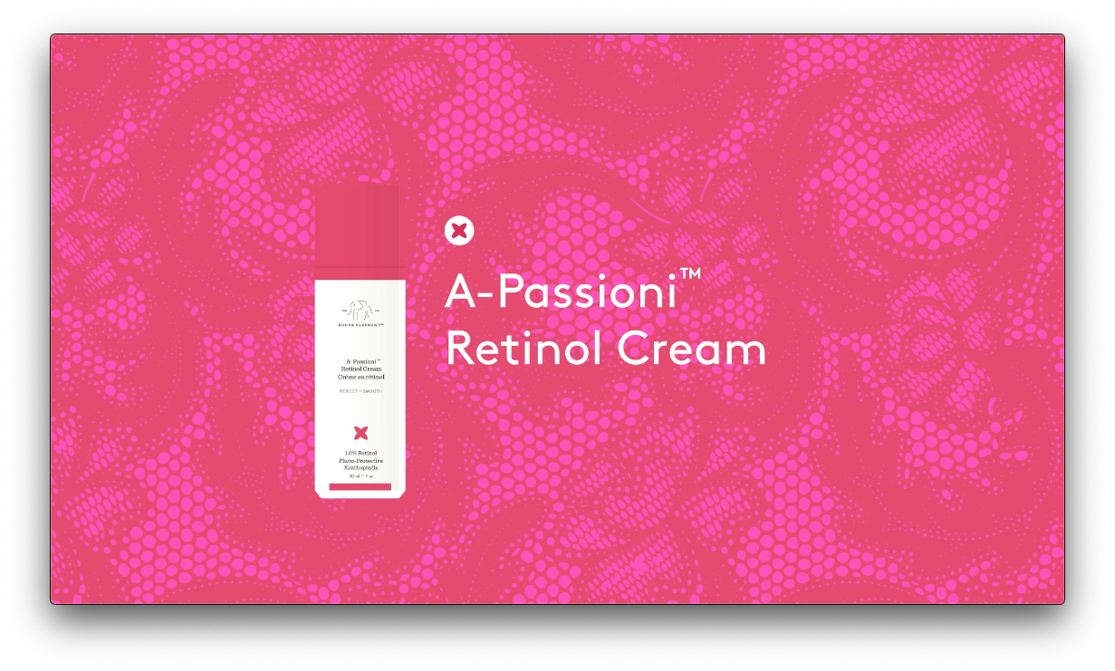 video talking about Drunk Elephant's A-Passioni Retinol Cream