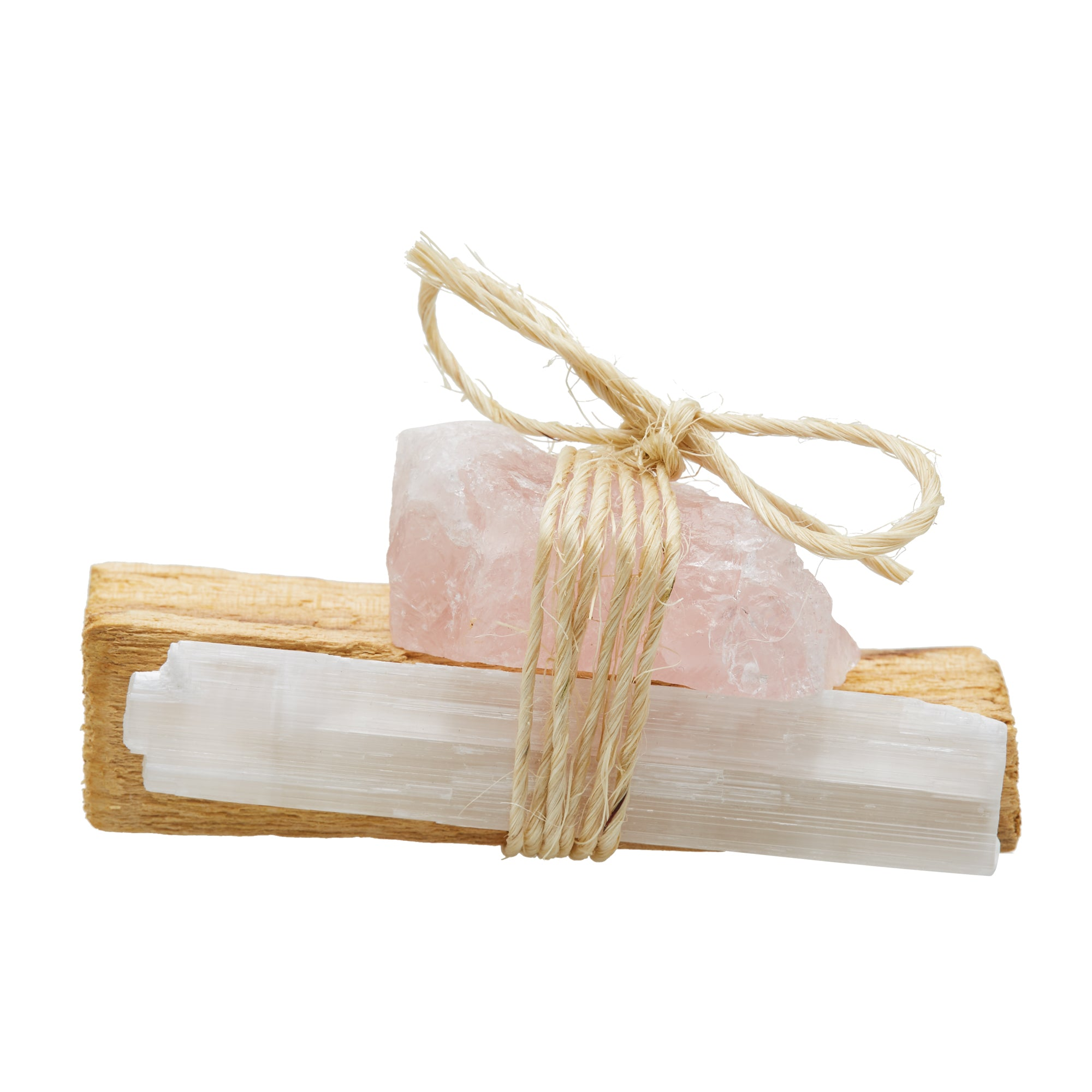 ROSE QUARTZ: Palo Santo Bundle