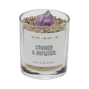 AMETHYST: Calm & Relaxation Bath Salt Blend