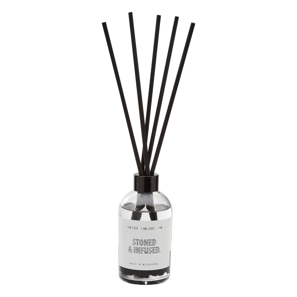 BLACK TOURMALINE: Crystal Infused Diffuser