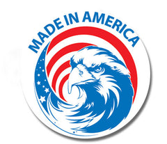 """Made in USA"" Imprinted Labels"