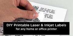 Blank Printable Labels for Inkjet/Laser