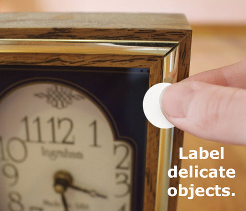 Removable Labels for Delicate Items