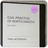 trial notebook confidential organize label