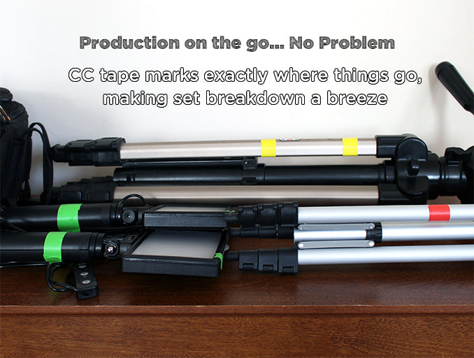 Color Coding on Camera Equipment