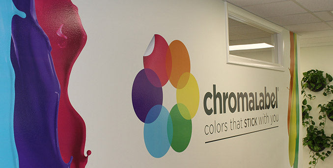 ChromaLabel Office Wall Decal