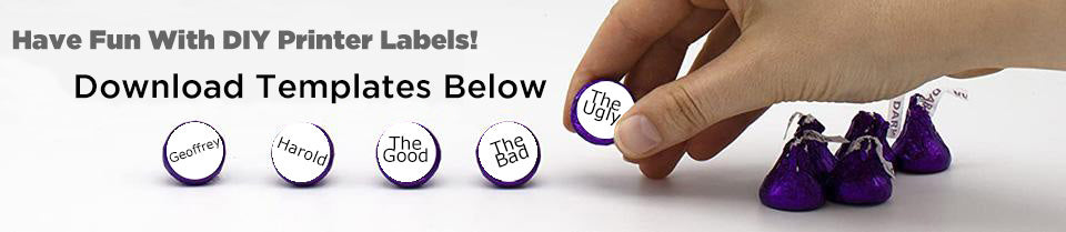 Printable Laser Labels from ChromaLabel