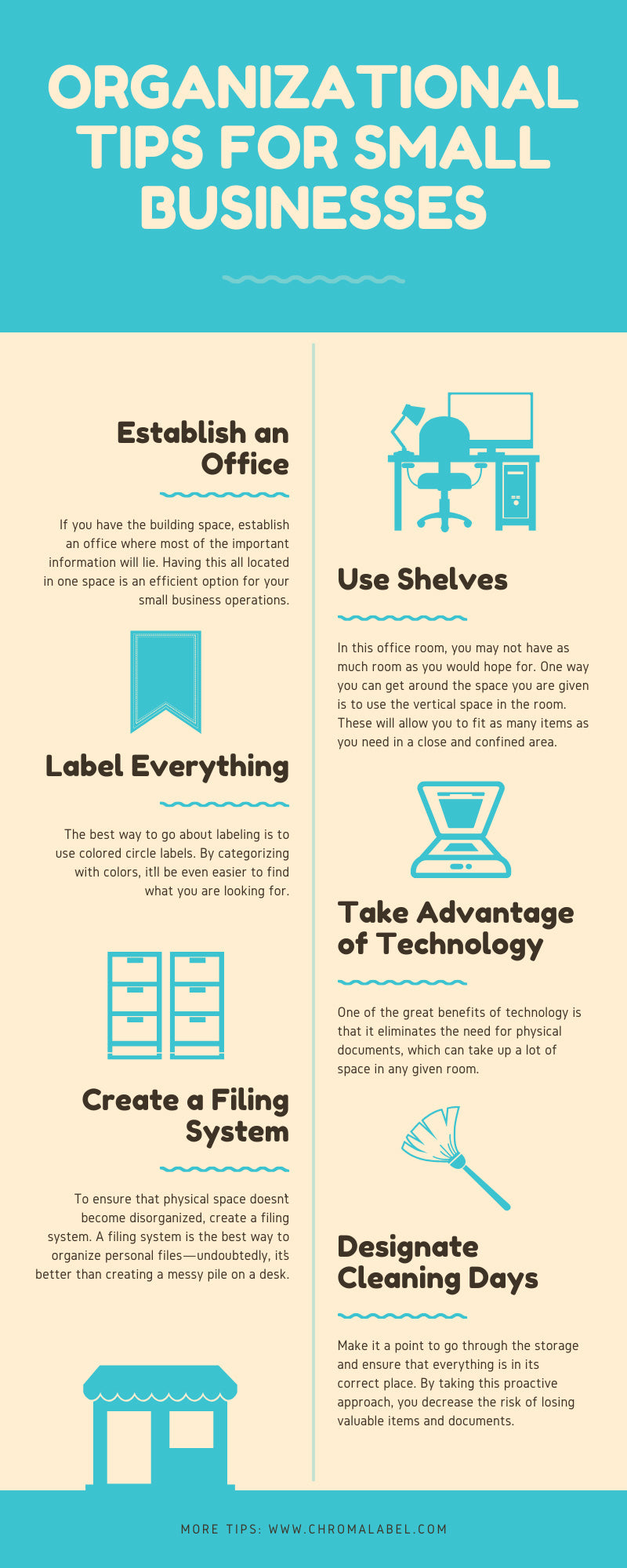 Organizational Tips for Small Businesses