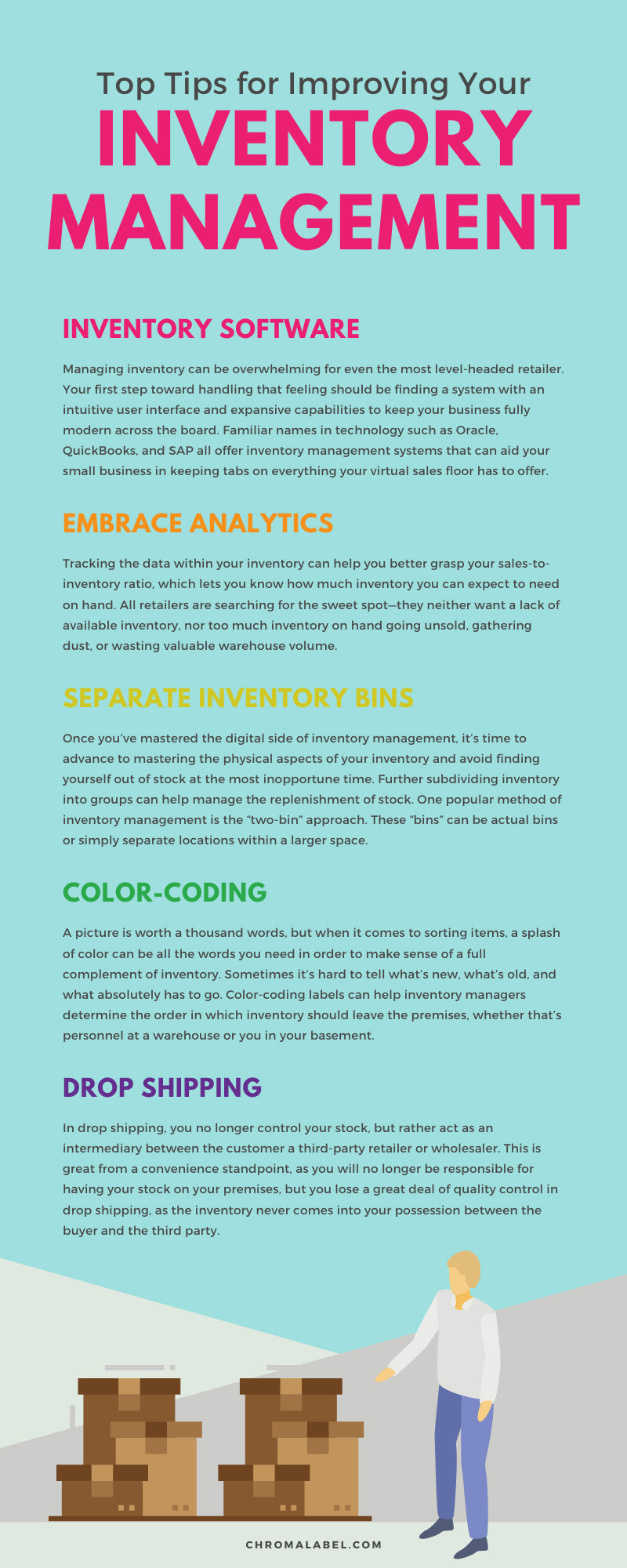 Top Tips for Improving Your Inventory Management