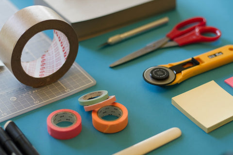 heavy duty colored adhesive tape