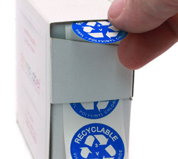 Plastic Recycling Stickers