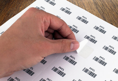 Printable Barcode Laser Labels