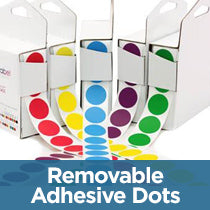 Removable Color Code Dots