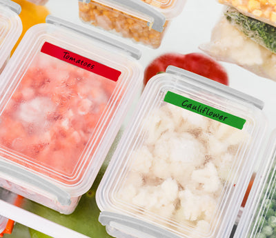 "0.5"" Removable Freezer Labeling Tape"