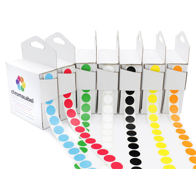 1/2 Permanent Color-Code Dot Variety Kit (Standard): 7,000/Kit