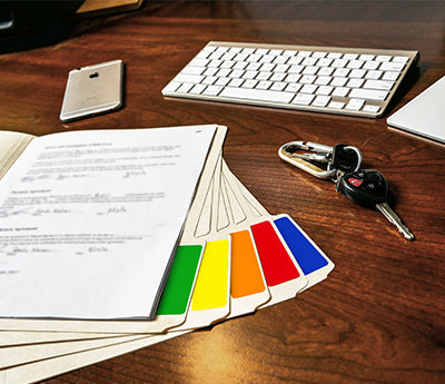 "1"" x 3"" Color Coding Labels Variety Pack"