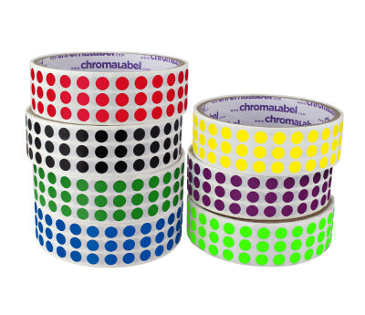 "0.25"" Color Code Dot Labels"