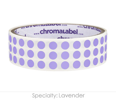 "0.25"" Lavender Round Dot Stickers"