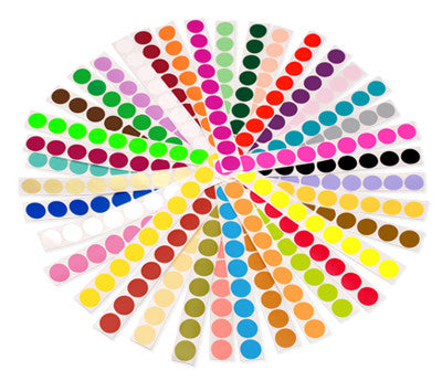 "1"" Color Code Dots Kit"