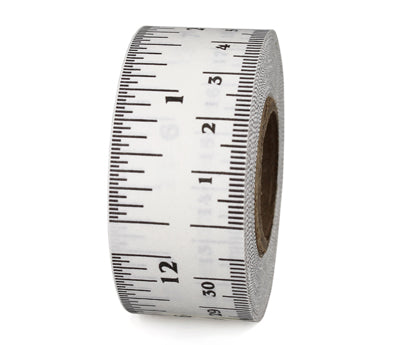 "1"" White Measuring Tape"