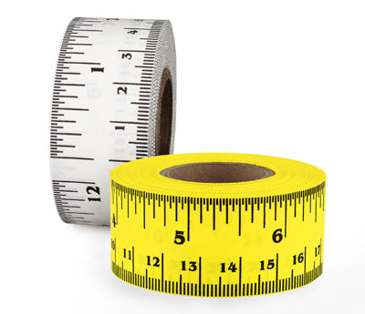 "1"" Removable Ruler Measuring Tape"