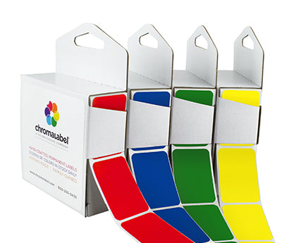 "1"" x 1-1/2"" Blank Rectangle Labels"
