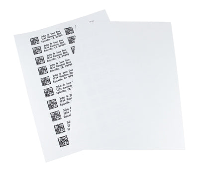 "1"" x 3"" Address Laser Labels"