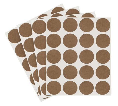 True Kraft Paper Dots: 1080/Pack